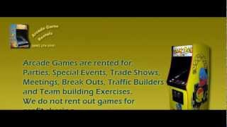 Arcade Game Rental For Parties and Trade Shows - (800) 270-2545