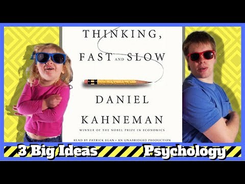 Thinking, Fast and Slow by Daniel Kahneman - 3 Big Ideas