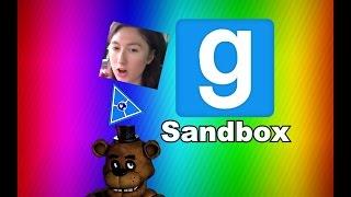 FREDDY & ANIMATRONICS FRIENDS vs BENDY & THE INK MACHINE! (Gmod For Kids FNAF Sandbox Funny Moments)