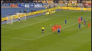 Динамо - Мариуполь - 4:0. Гол: Цыганков (85')