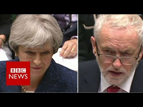 Labour leader Corbyn and PM May clash on UK-Saudi policy - BBC News