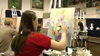 Обучение масляной живописи с нуля спб. Рисование для взрослых спб