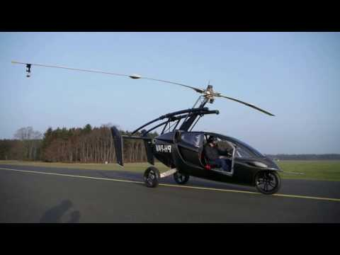 Real Flying Car - Pre-Order Available - Pal V Liberty