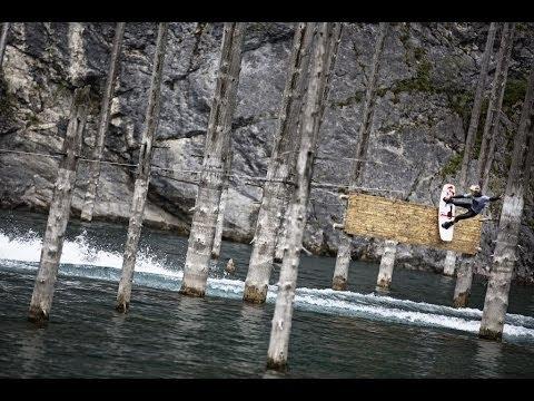 Вейкбординг. Никита Мартьянов и горное озеро Каинды.