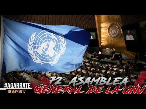 TRUMP HABLA CLARO SOBRE CUBA Y VENEZUELA | ONU | PARTE 2 | AGÁRRATE | FACTORES DE PODER