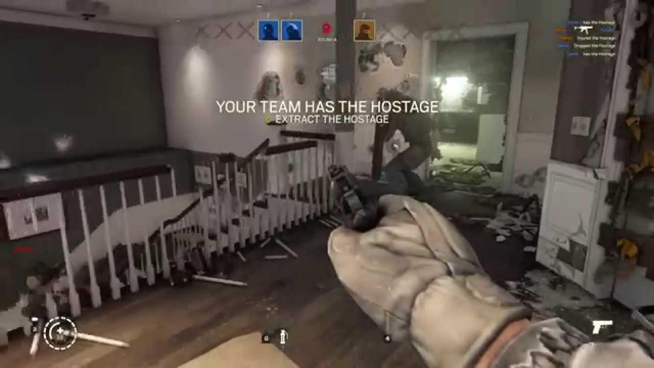 Rainbow Six Siege Pre-alpha Gameplay - YouTube