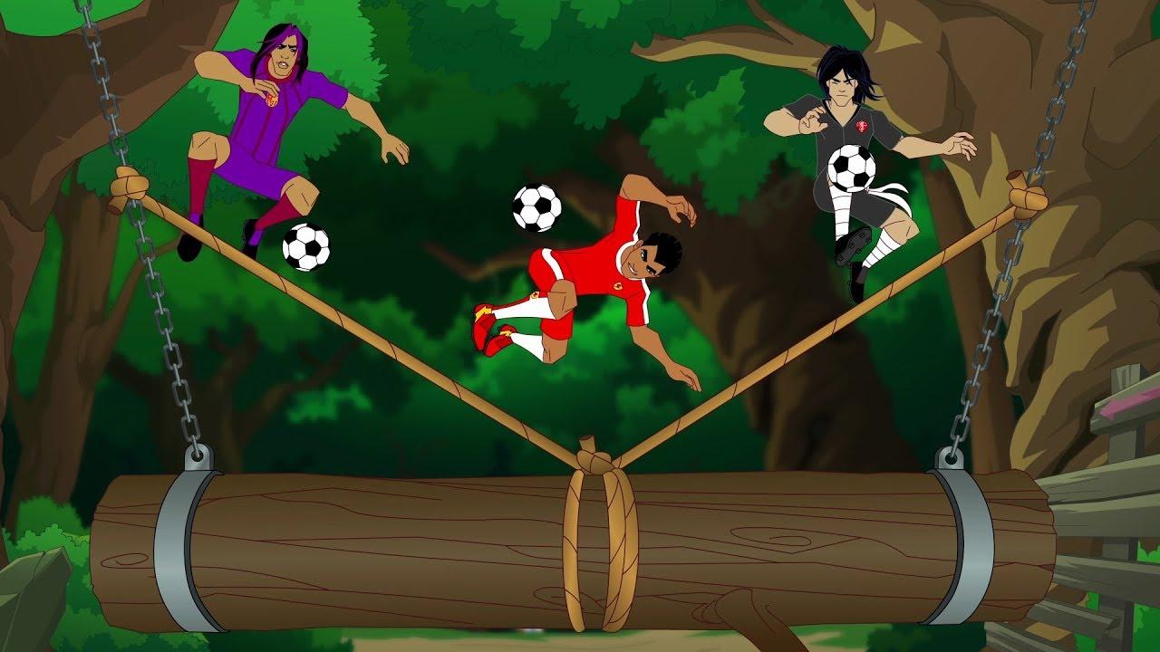 Supa Strikas Season 4 Episode 42 Live And Kicking Kids Cartoon Youtube