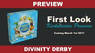 Divinity Derby by Ares Games - Setup and Gameplay
