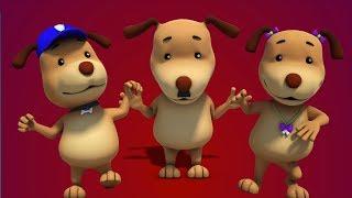 Собаки палец семья | Дети и ребенка рифмы | Finger Family Song | Dogs Finger Family | Kids Song