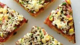 Bread Pizza - Home Made Indian Food & Recipes