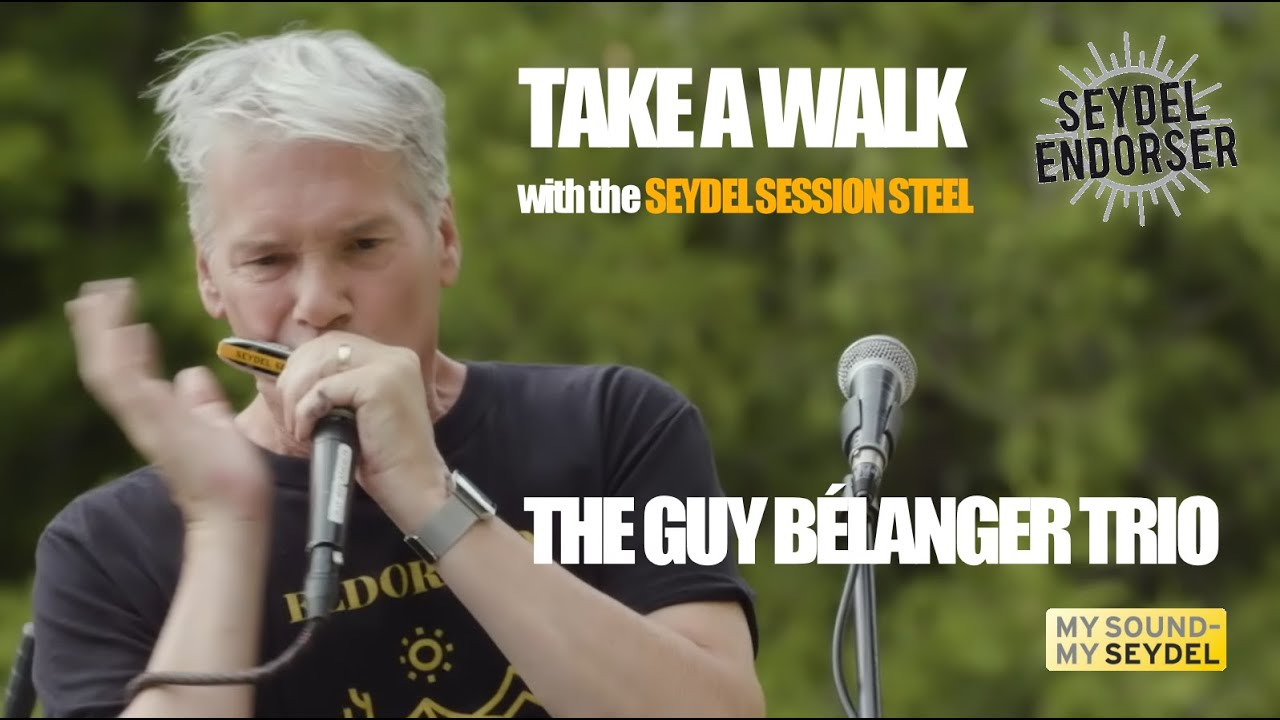 """Take A Walk"" played by the Guy Bélanger Trio - SEYDEL SESSION STEEL"