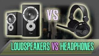 Headphones Vs. Loudspeakers - The Potentional Dangers of using Headphones.