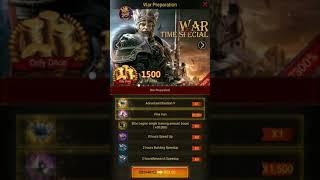 Clash of kings: Evento de tropa quase 400M de poder!