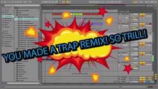 MAKE A TRAP REMIX IN 5 MINUTES! (with free samples download)