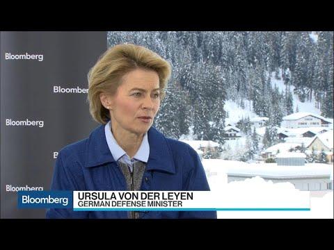 Germany Will Stand by 2% Defense Spending Goal, Says Von der Leyen