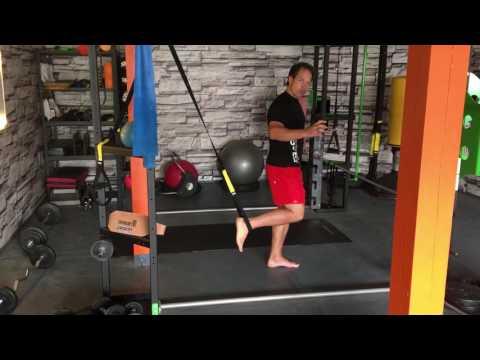 Ganzkörpertraining mit TRX Bänder bei Fit mit Chris Personal Training Dresden