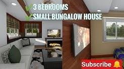 Small bungalow house interior design | small space interior design