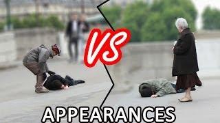 LE POIDS DES APPARENCES (Expérience sociale) | The importance of appearances experiment