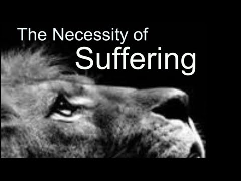 On the Necessity of Suffering