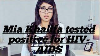 Mia Khalifa tested positive for HIV-AIDS??.Mia Khalifa Has Perfect Response To HIV Rumors On Twitter