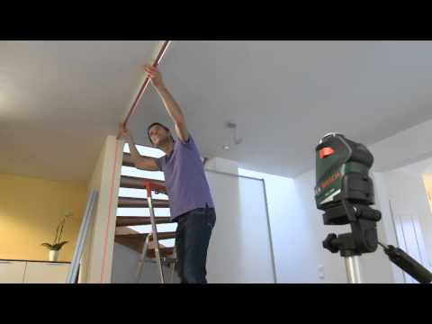 bosch sirkellaser pll 360 youtube. Black Bedroom Furniture Sets. Home Design Ideas