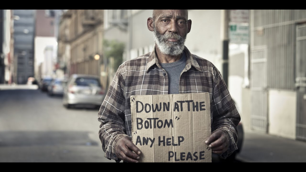 should we help a homeless person when they are on drugs or drunk