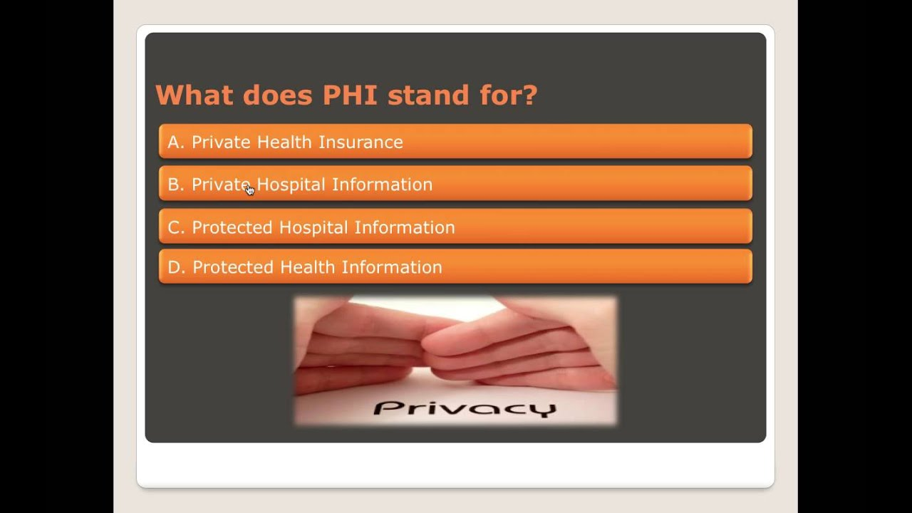 It is a photo of Remarkable Printable Hipaa Quiz