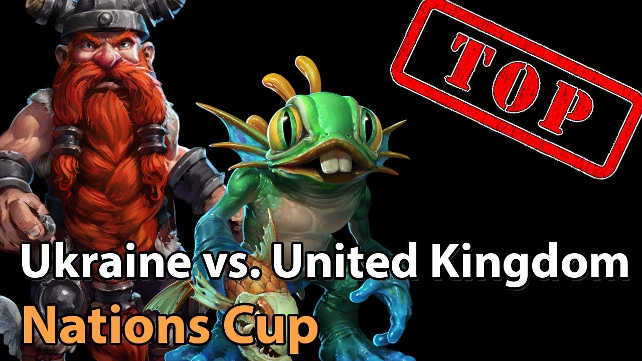 ► Ukraine vs. United Kingdom - Nations Cup - Heroes of the Storm Esports