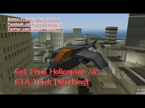 New Update How To Get Helicopter In Gta Vice City Hack