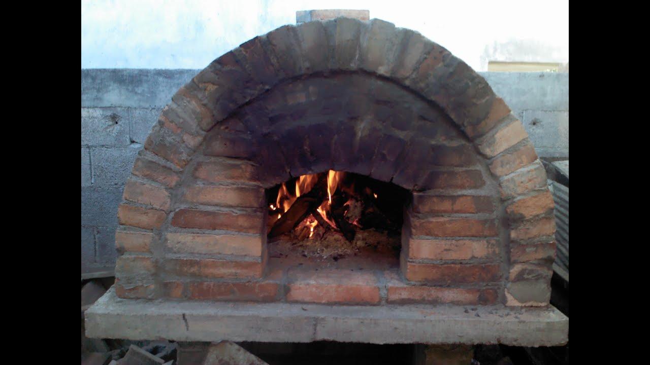 Como hacer un panadero y o horno de le a viyoutube - Hornos de lena prefabricados ...
