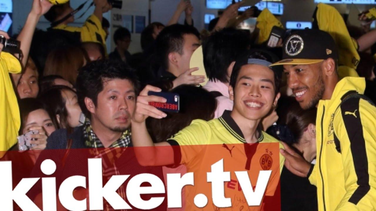 Big in Japan: Borussia Dortmund erobert Asien - kicker.tv