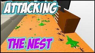 Home Wars Gameplay: ATTACK THE NEST! CUSTOM BATTLES IN SANDBOX MODE - Let