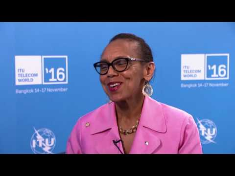ITU TELECOM WORLD 2016: Allyson Maynard Gibson, Minister of Legal Affairs, The Bahamas