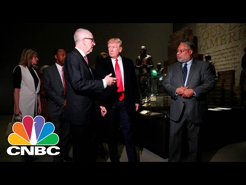 President Trump: Honored To Be Seconding Sitting President To Visit African American Museum | CNBC