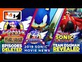 #SonicForHire is Gone! #SonicMovie 10 Year Challenge? New Sonic Music Teased? (#SonicNews Recap)