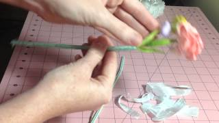 Flower Bouquet With Tutorial For Wild Orchid Crafts Design Team