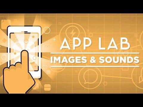 App Lab - Images et sons