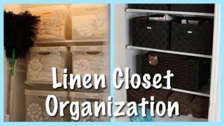 Linen Closet Organization (2013 Update)
