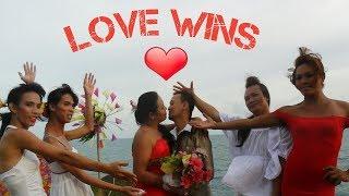 artraveLOVEat:  THE SAME SEX WEDDING   LOVE WINS