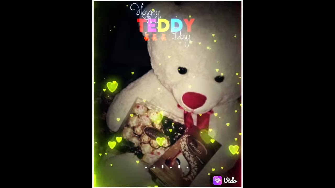 💌💕Thi teddy day gives me lots of love and happiness💞💞❤️❤️❤️teddy day special💞💞🥰🥰🥰