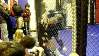 MMA walki w klatce Tomek Orzesze