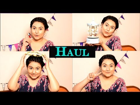 Indian  haul video / Indian shopping video {Delhi fashion blogger}