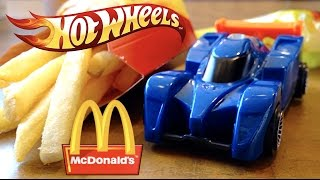 Hot Wheels McDonald's Toy Review