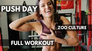 EPIC PUSH DAY AT ZOO CULTURE ft. BRADLEY MARTYN & SWOLEESI