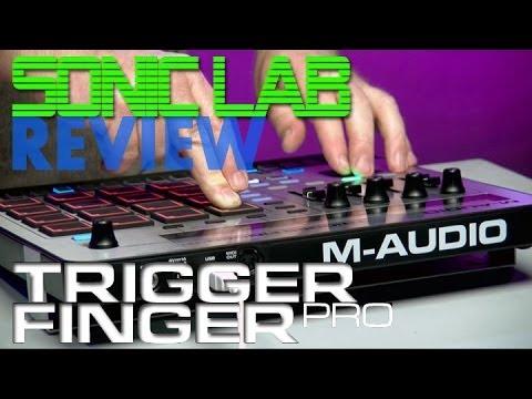 Sonic LAB: M-Audio Trigger Finger Pro - Beats MIDI Controller