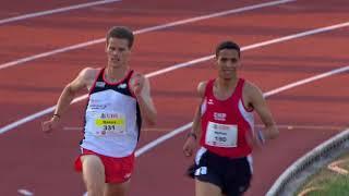 SM Zofingen 2018: 5000m Männer Final