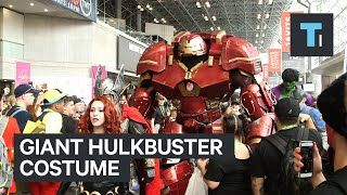 Giant Hulkbuster costume wins New York Comic Con