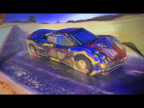 Projection mapped Car with Dynamic Environment - Mythos Entertainment Center - Shanghai, China