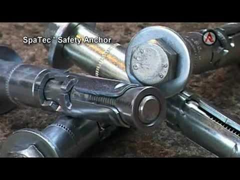 Установка металлического анкера SPIT TRIGA Z