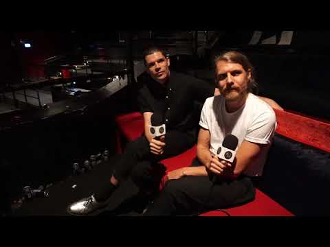 Grouplove Reflect On BIG MESS Tour, Imagine Dragon Shows - Christian & Andrew